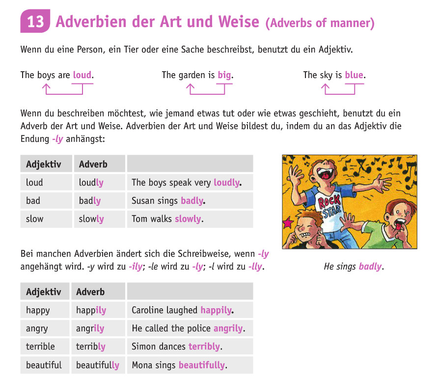 Magnificent Adverb Ly Arbeitsblatt Vignette - Kindergarten ...